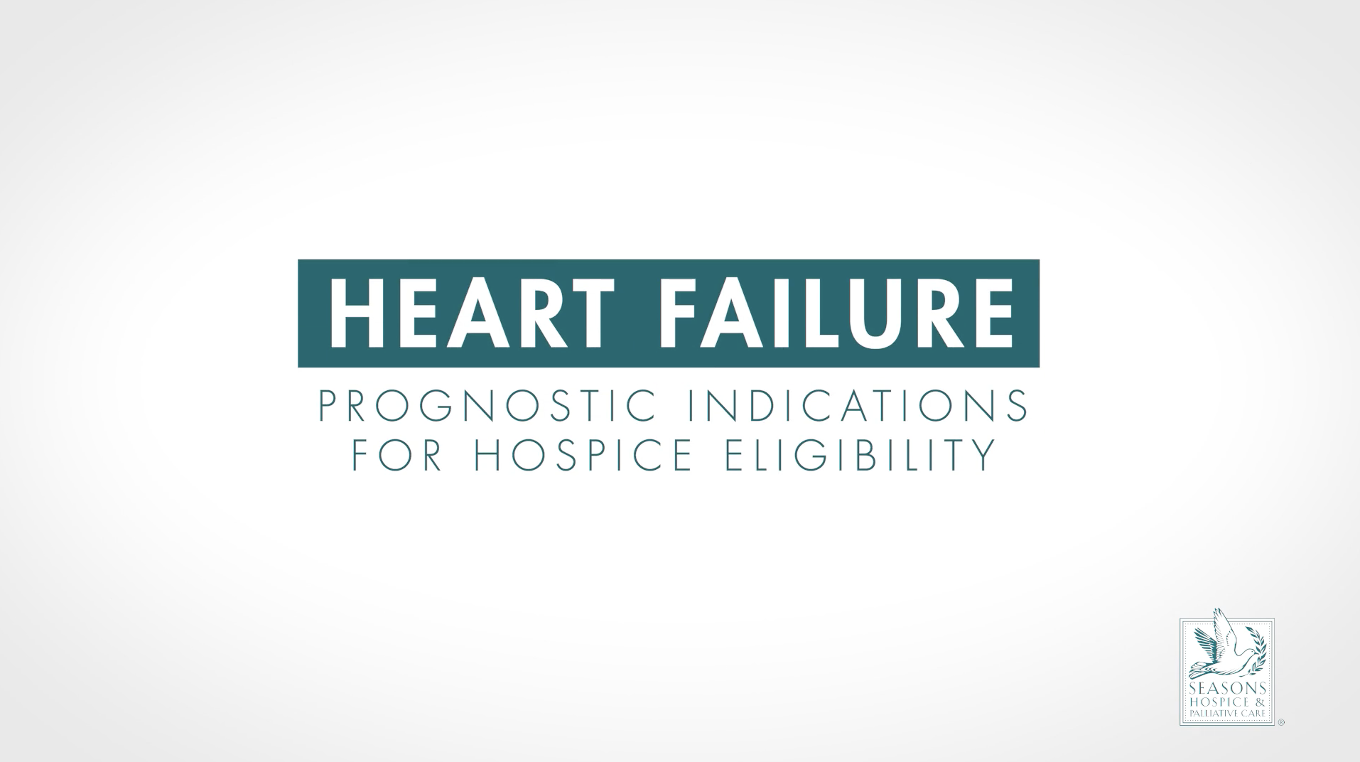 When is a patient with congestive heart failure ready for hospice?